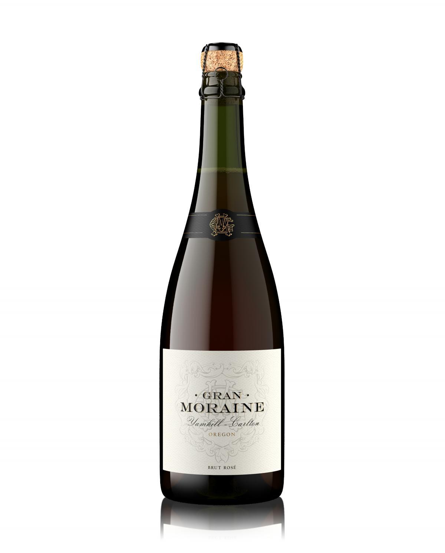Gran Moraine Brut Rosé bottle shot