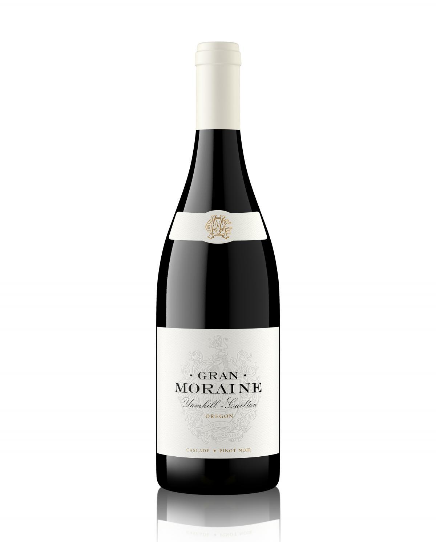 Gran Moraine Cascade Pinot Noir bottle shot