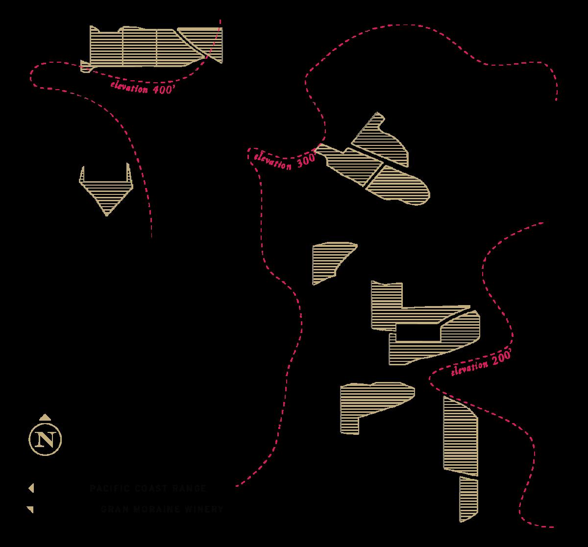 Chardonnay Block Map